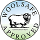 Woolsafe Approved Image Logo for Crossley Domestic Services - Carpet and Upholstery Cleaning